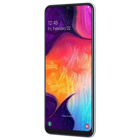 """Imagem de Smartphone Samsung Galaxy A50 Dual Tela Infinita de 6,4"""", 64 GB - Branco"""