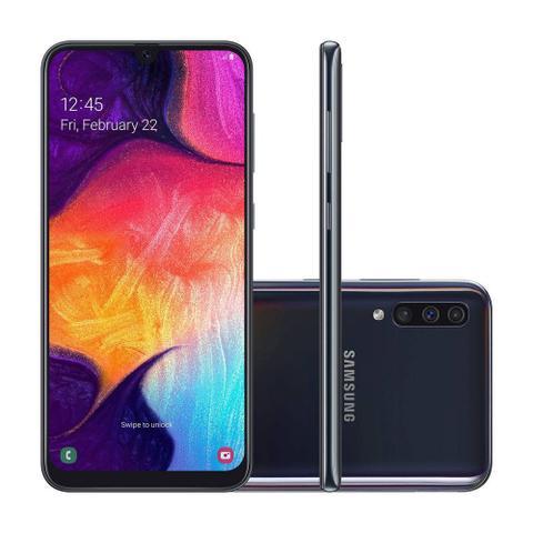 """Imagem de Smartphone Samsung Galaxy A50 Dual Tela Infinita de 6,4"""", 64 GB - Preto"""