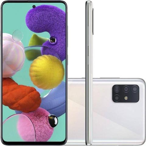 Imagem de Smartphone Samsung Galaxy A51 128GB Câmera Quádrupla 48MP 12MP 5MP 5MP Frontal 32MP Cinza