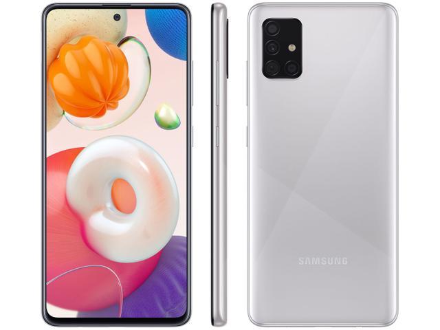 Imagem de Smartphone Samsung Galaxy A51 128GB Cinza 4G Octa