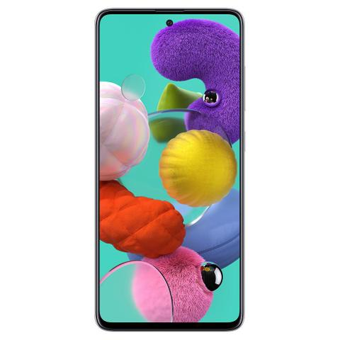 Celular Smartphone Samsung Galaxy A51 A515f 128gb Branco - Dual Chip