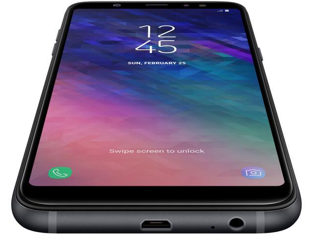 Imagem de Smartphone Samsung Galaxy A6+ 64GB Preto
