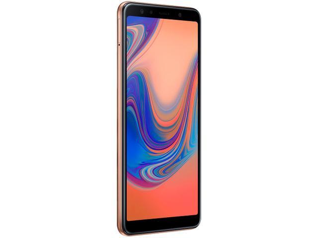 Imagem de Smartphone Samsung Galaxy A7 64GB Cobre 4G