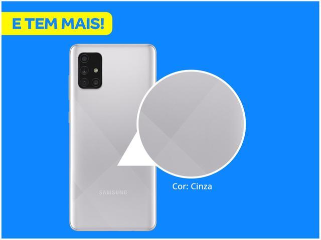 Imagem de Smartphone Samsung Galaxy A71 128GB Cinza 4G
