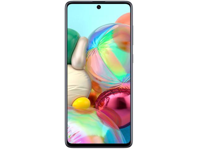 Imagem de Smartphone Samsung Galaxy A71 128GB Preto 6GB RAM