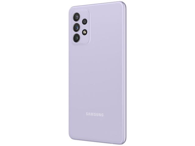 Imagem de Smartphone Samsung Galaxy A72 128GB Violeta 4G