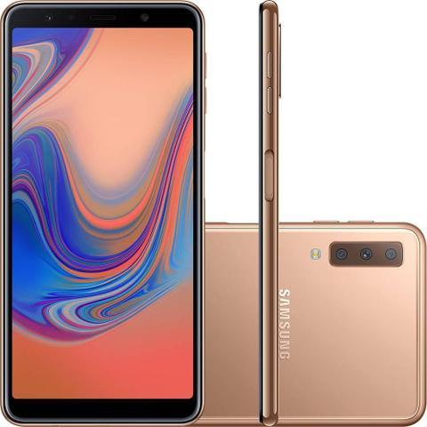 Imagem de Smartphone Samsung Galaxy A750G A7, 64GB, Dual Chip, 4G, 24MP - Cobre
