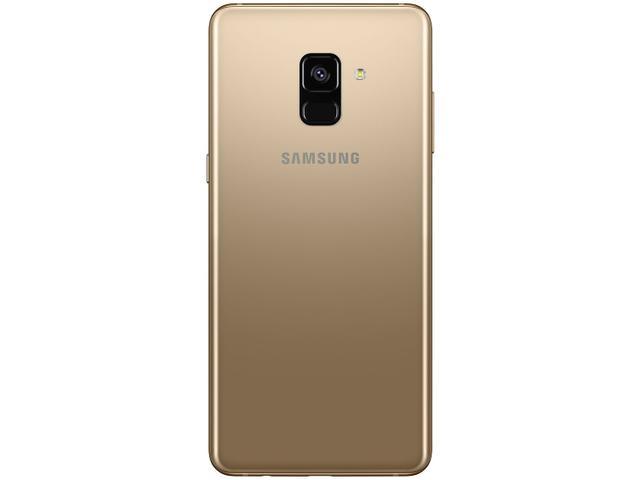 Imagem de Smartphone Samsung Galaxy A8+ 64GB Dourado 4G
