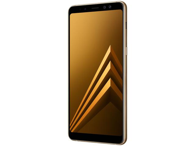 Imagem de Smartphone Samsung Galaxy A8+ 64GB Dourado