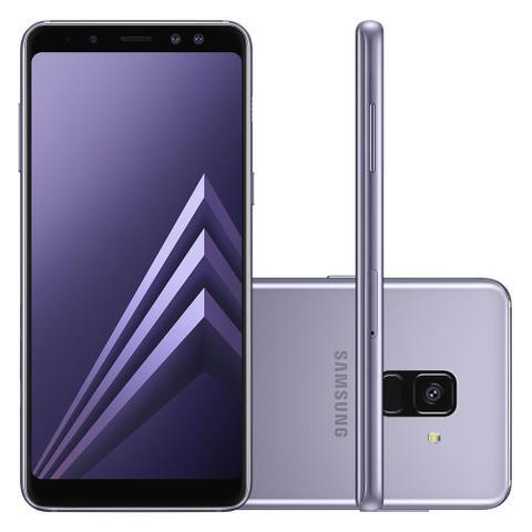 Imagem de Smartphone Samsung Galaxy A8 Dual Chip, Android 7.1, Câmera 16MP, Processador Octa Core e RAM de 4GB, 64GB, Ametista, Tela 5,6
