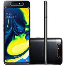 Celular Smartphone Samsung Galaxy A80 A805f 128gb Preto - Dual Chip