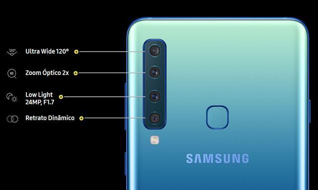 Imagem de Smartphone Samsung Galaxy A920F Câmera Quadrúpla
