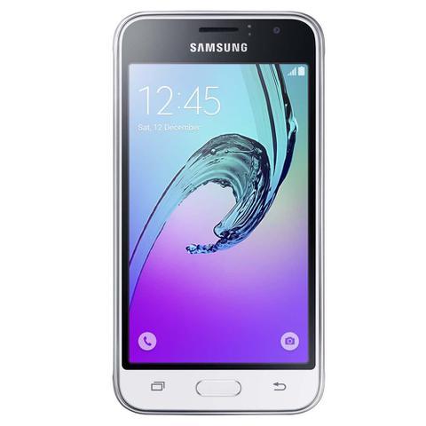 Imagem de Smartphone Samsung Galaxy J1 2016 Duos Branco com Dual chip, Tela 4.5