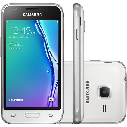 Imagem de Smartphone Samsung Galaxy J1 Mini SM-J105 8GB Tela 4 Android 5.1 Câmera 5MP Dual Chip
