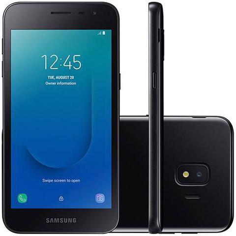 Imagem de Smartphone Samsung Galaxy J2 Core 16GB 4G Tela 5 Câmera Traseira 8MP - Preto