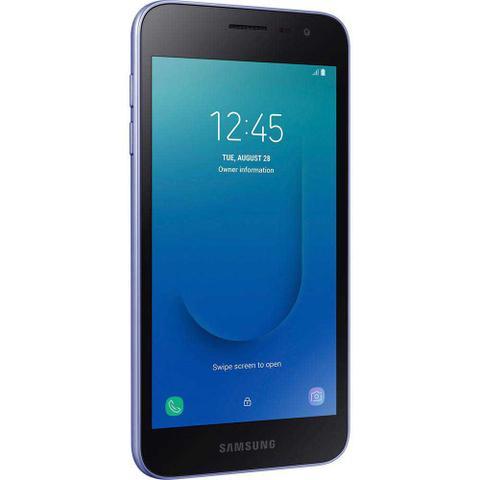"""Imagem de Smartphone Samsung Galaxy J2 Core 16GB Prata - 4G 1GB RAM Tela 5"""" Câm. 8MP + Câm. Selfie 5MP"""