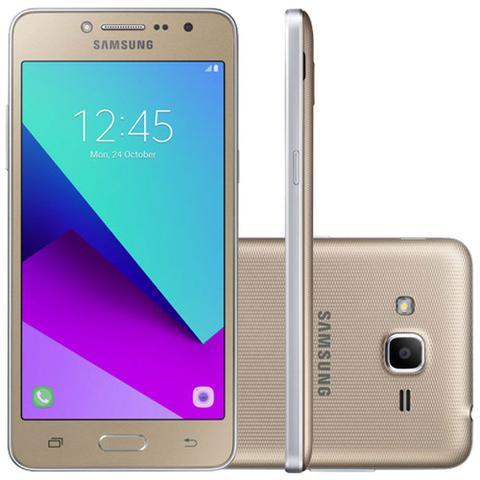 Imagem de Smartphone Samsung Galaxy J2 Prime Dourado com 16GB, Tela 5, Dual chip, 4G, Câmera 8MP, Android 6.0 e Processador Quad Core e RAM de 1.5 GB