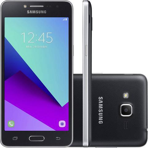Imagem de Smartphone Samsung Galaxy J2 Prime Preto com 16GB, Tela 5, Dual chip, 4G, Câmera 8MP, Android 6.0 e Processador Quad Core e RAM de 1.5 GB