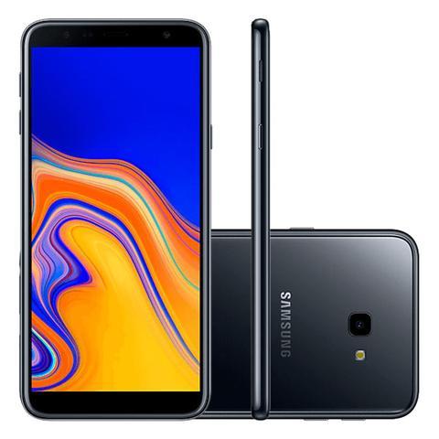 Imagem de Smartphone Samsung Galaxy J4+ 32GB Android Dual Chip Tela Infinita de 6 Polegadas SM-J415G Preto