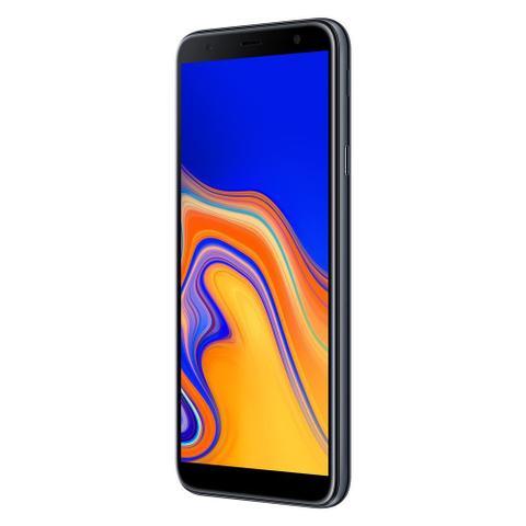 Imagem de Smartphone Samsung Galaxy J4+ 32GB, Tela infinita de 6, Câmera Traseira 13MP, Câmera Frontal de 5MP, 2GB RAM, Dual Chip, Android 8.1 - Preto
