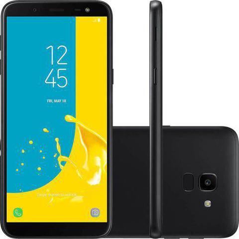 Imagem de Smartphone Samsung Galaxy J6 32gb Dual Chip Android 8.0 Tela 5.6 Octa-core 1.6ghz 4g Câmera 13mp + Micro Sd Classe 10 32