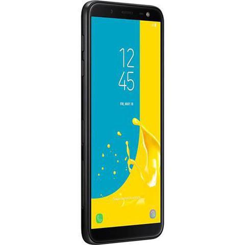 Imagem de Smartphone Samsung Galaxy J6, 32GB, Dual Chip, Android, Tela 5.6 Pol, Octa-Core, 4G 13MP, TV - Preto