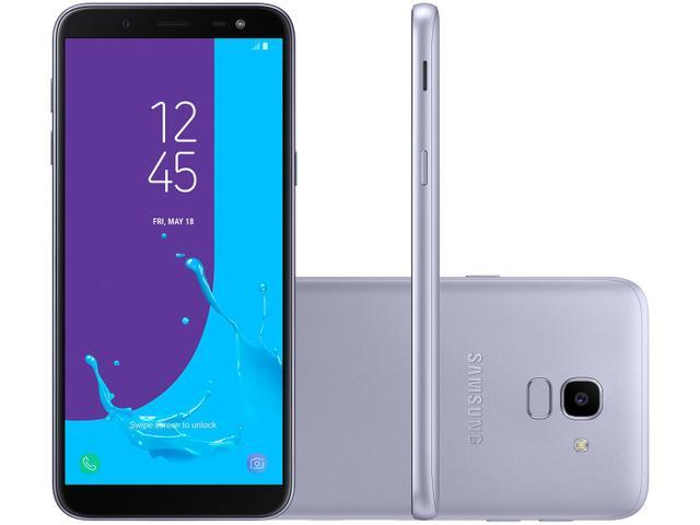 Imagem de Smartphone Samsung Galaxy J6 32GB Prata 4G