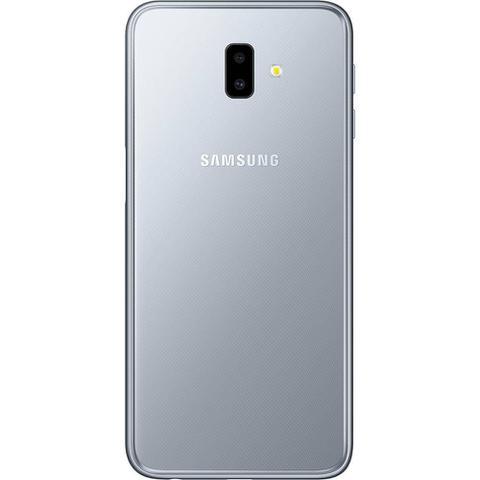 """Imagem de Smartphone Samsung Galaxy J6+ 32GB Prata 4G - 3GB RAM Tela 6"""" Câm. Dupla + Câm. Selfie 8MP"""