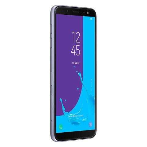 Imagem de Smartphone Samsung Galaxy J6 32GB Prata - Dual Chip 4G Câm. 13MP + Selfie 8MP Flash