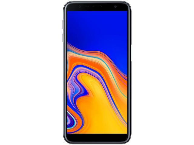 """Imagem de Smartphone Samsung Galaxy J6+ 32GB Preto 4G - Quad Core 3GB RAM Tela 6"""" Câm Dupla + Selfie 8MP"""