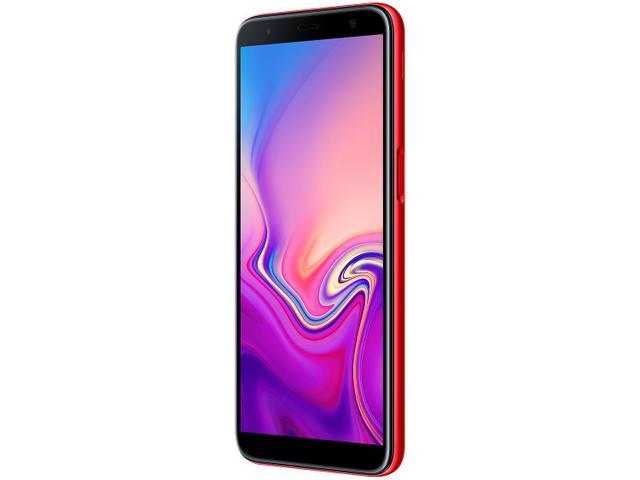 Imagem de Smartphone Samsung Galaxy J6+ 32GB Vermelho 4G