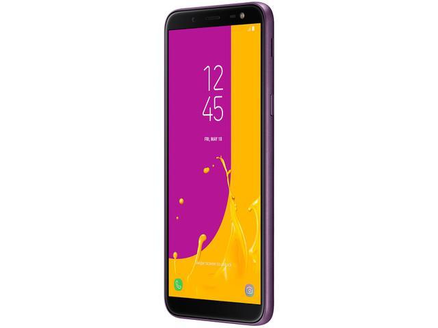 Imagem de Smartphone Samsung Galaxy J6 64GB Violeta
