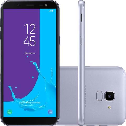 Imagem de Smartphone Samsung Galaxy J6 Dual 5.6 32GB 13MP c/ TV - Prata
