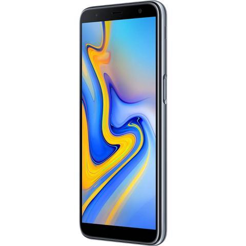 """Imagem de Smartphone Samsung Galaxy J6 Plus 32GB Prata 4G - 3GB RAM Tela 6"""" Câm. Dupla + Câm. Selfie 8MP"""