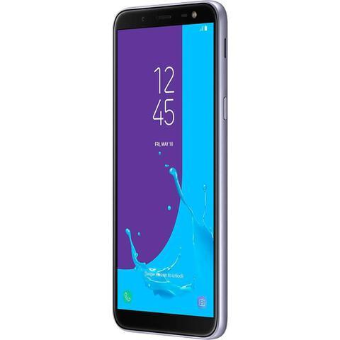 Imagem de Smartphone Samsung Galaxy J6 Prata 32GB Câmera 13MP 4G TV SM-J600GZVCZTO