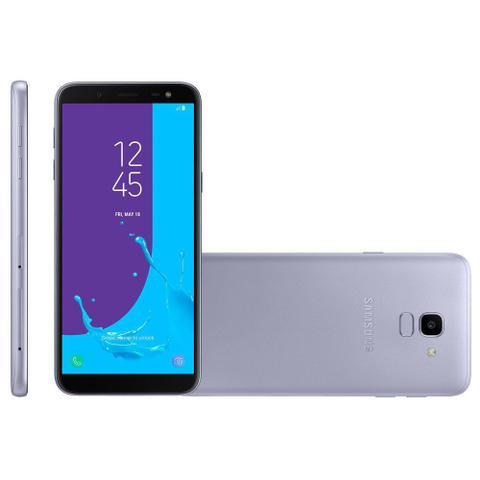 Imagem de Smartphone Samsung Galaxy J6, TV, Dual, 64GB, 13MP, 4G, Prata - J600GT