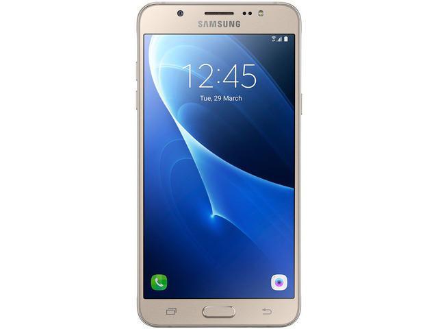 Imagem de Smartphone Samsung Galaxy J7 Metal 16GB Dourado