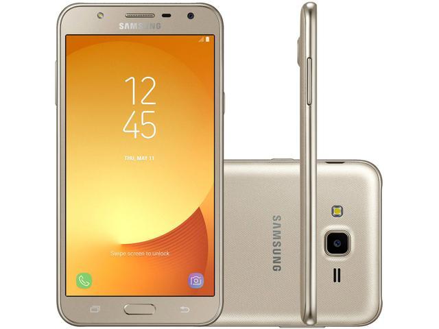 Imagem de Smartphone Samsung Galaxy J7 Neo 16GB Dourado