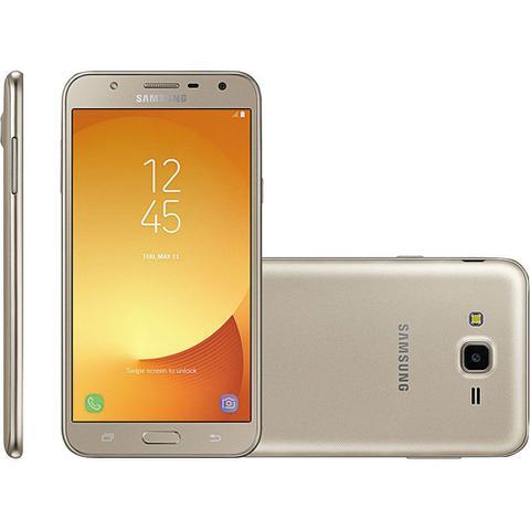 Imagem de Smartphone Samsung Galaxy J7 Neo J701M Dual Chip Android 7.0 Tela 5.5 4G/Wi-Fi 13MP GPS e TV Dourado