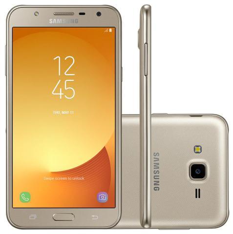 """Imagem de Smartphone Samsung Galaxy J7 Neo - Tela 5.5"""" - 16GB - 13MP - TV Digital - Dourado - SM-J701MT"""