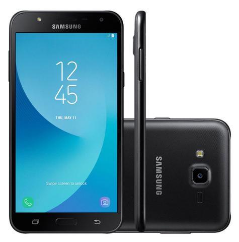 """Imagem de Smartphone Samsung Galaxy J7 Neo - Tela 5.5"""" Super AMOLED - Octa Core - 16GB - Dual Chip - 4G - 13MP - TV Digital - Preto - SM-J701MT"""