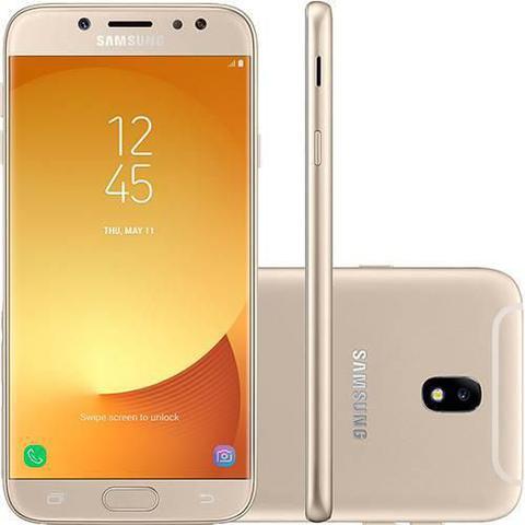 Imagem de Smartphone Samsung Galaxy J7 Pro 64GB Dourado Android 7.0 Tela 5.5