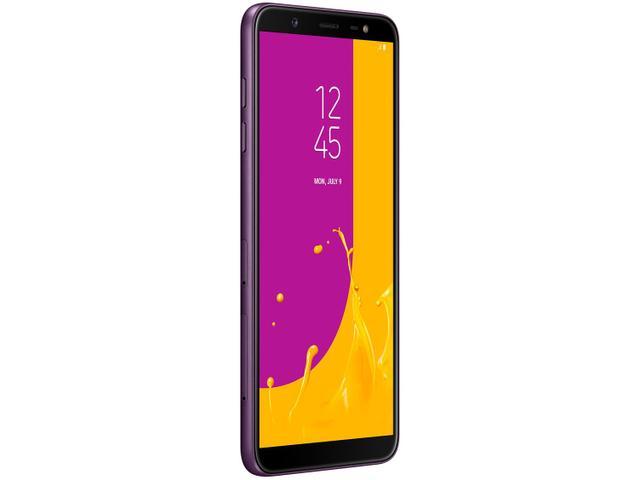 Imagem de Smartphone Samsung Galaxy J8 64GB Violeta 4G