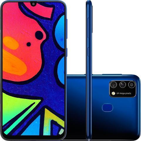Celular Smartphone Samsung Galaxy M21s 64gb Azul - Dual Chip