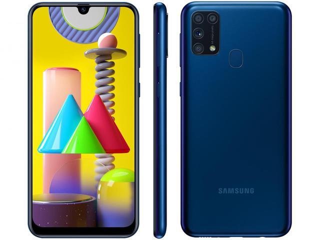 Imagem de Smartphone Samsung Galaxy M31 128GB Azul 4G