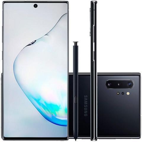 Imagem de Smartphone Samsung Galaxy Note 10+ 256GB 4G Tela 6.8 Octa-Core 12GB RAM Dual Chip - Preto