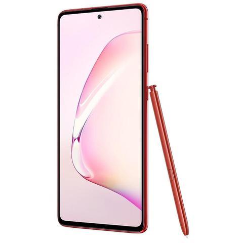 Imagem de Smartphone Samsung Galaxy Note 10 Lite, Vermelho , Tela 6.7