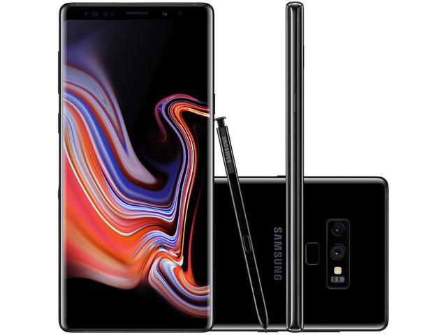 Celular Smartphone Samsung Galaxy Note 9 N9600 128gb Preto - Dual Chip