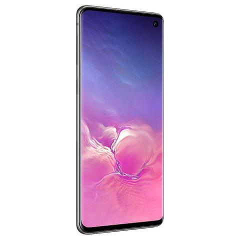 "Imagem de Smartphone Samsung Galaxy S10 128GB 6.1"" Octa-Core 4G Preto"