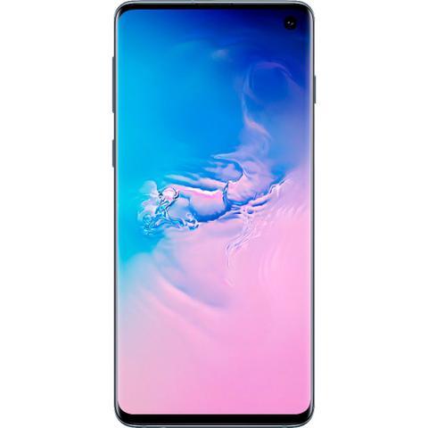 Imagem de Smartphone Samsung Galaxy S10 128GB Câmera Tripla 12MP 16MP 12MP Frontal 10MP Android 10 Azul
